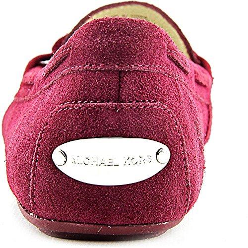 Michael Michael Kors Daisy Moc Daim Chaussure Plate Merlot