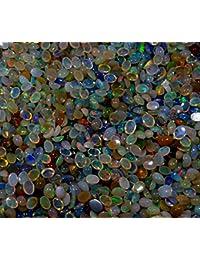 151cts Wholesale Lot naturales welo etíope multicolor fuego Opal calibrar combinación forma Cabochons Gemstone
