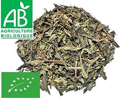 Thé vert Menthe poivrée BIO 200g (naturel sans arôme ajouté)