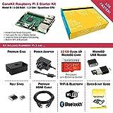 CanaKit Raspberry Pi 3 Complete Starter Kit - UK Edition (32 GB, Black)