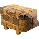 Logica Giochi, art. CERDITO 3D - nivel de dificultad DIFÍCIL 3/5 - Rompecabezas de madera