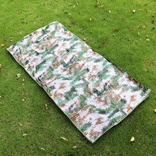 OYWNF Camuflaje Manta de Picnic Impermeable Al Aire Libre Portátil Plegable Césped Estera de Playa Papel de Aluminio Tela de Picnic (Size : M)