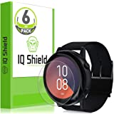 IQ Shield Screen Protector Compatible with Samsung Galaxy Watch Active (Galaxy Watch Active2 40mm) (6-Pack) Anti-Bubble Clear