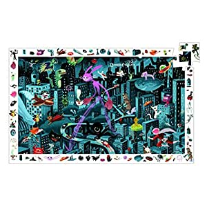 Djeco - Puzzle observation 200 Pièces - Night City