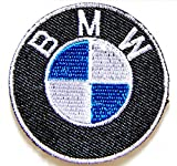 5,1 cm Mini BMW Sport Auto Motorräder Logo Jacket T-shirt Patch Sew Iron on Embroidered Badge Emblem Sign