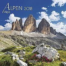 Alpen 2018: Broschürenkalender mit Ferienterminen