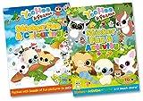 Telecharger Livres YooHoo Peluche Autocollant pour vos amis et Fun 2 livres Elmer abonnement Autocollant Fun et autocollant d activite et amusant de coloriage (PDF,EPUB,MOBI) gratuits en Francaise