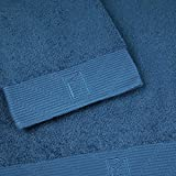 Bailet B001DB-zeitlos BL02 Duschtuch, gekämmte Baumwolle, blau, Stockente, 100 x 150 cm