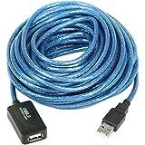 TRIXES Câble d'extension répéteur actif haut débit USB2.0 480 Mpbs 10 m