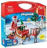 Playmobil-Briefcase with Santa Sleigh design (5956)