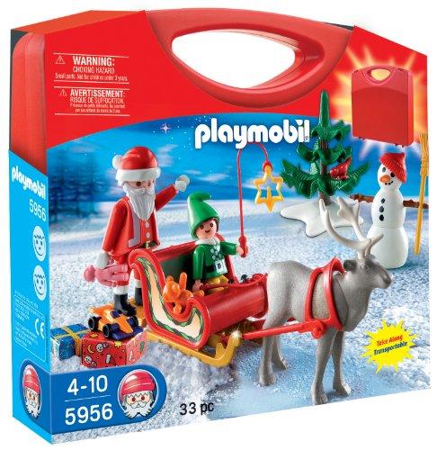 Playmobil - Maletín con diseño Trineo de papá Noel (5956)