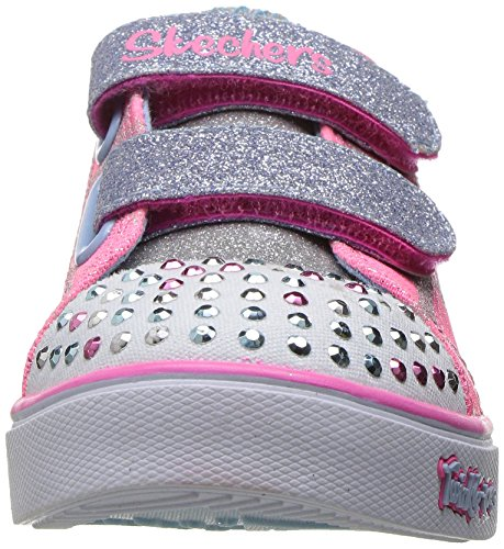 Skechers Sparkle Glitz Heartsy Glam, Sneakers Basses Fille Rose (Pklb)