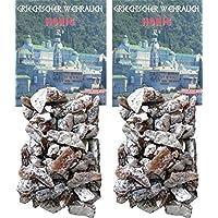Trimontium GWR03-P2 Räucherwerk - Griechischer Weihrauch Stücke Honig 2 x 25 g zum Räuchern auf Kohle oder Sieb preisvergleich bei billige-tabletten.eu