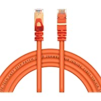 Live Tech Enzo CAT7 3 Meter Ethernet LAN Cable 10 Gigabit 600Mhz Speed SFTP 26AWG 7 * 0.12mm Bare Copper Patch Cord with…