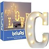 Letras Led Letras Luminosas Decorativas Letras Alphabet Light Luces De Espejo Del Alfabeto A-Z con Luces de LED para Decoraci