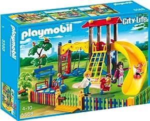 PLAYMOBIL 5568 – Kinderspielplatz