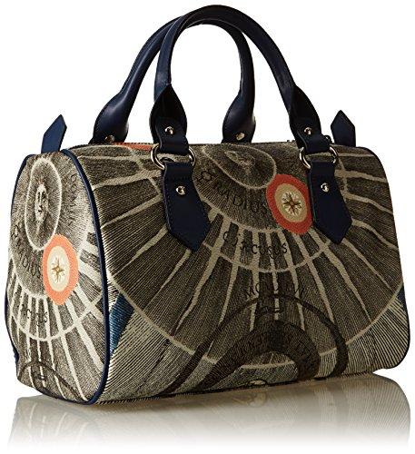 GATTINONI Gacpu0010005, sac à main Blu (Luna)
