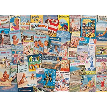 Gibsons 1000 Pieces Happy Holiday Jigsaw Puzzle