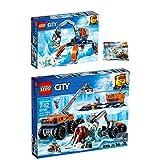 Lego CITY 3er Set 60192 60195 30360 Arktis-Eiskran auf Stelzen + Arktis-Forschungsstation + Arktis-Eissäge
