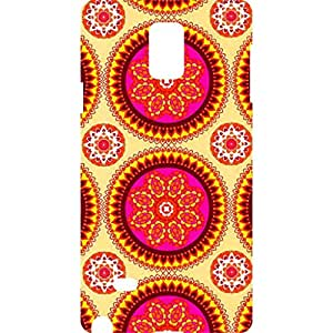 a AND b Designer Printed Mobile Back Cover / Back Case For Samsung Galaxy Note 4 (SG_N4_3D_2975)
