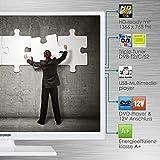 Telefunken XH24D101VD-W 61 cm (24 Zoll) Fernseher (HD Ready, Triple Tuner, DVD-Player, 12 V) Test
