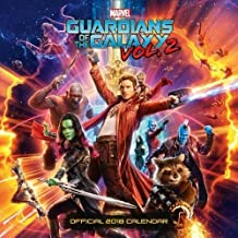 Guardians Of The Galaxy Official 2018 Calendar - Square Wall