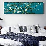 Karen Max Van Gogh Impressionist Mandelblüten Gemälde Reproduktionen an der Wand Wandbild Leinwand Bilder für Wohnzimmer Size 6:20x60inch No Frame