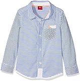 s.Oliver Baby-Jungen Hemd 65.804.21.6951 Weiß (White Stripes 01g9) 62