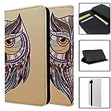 Tribal Art Eule Full Flip Case Schutzhülle für für Apple iPhone 8–S516