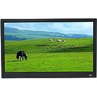 Photo Frame IPS Vollbild 15 Zoll HD digitaler Fotorahmen 1920 * 1080 elektronisches Fotoalbum Foto Video-Werbemaschine…