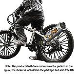 Auspuffanlage System Fahrrad Bike 3 Soundeffekte Turbospoke Lautsprecher Aufklebe Geräusche Rohr Motorrad Sound
