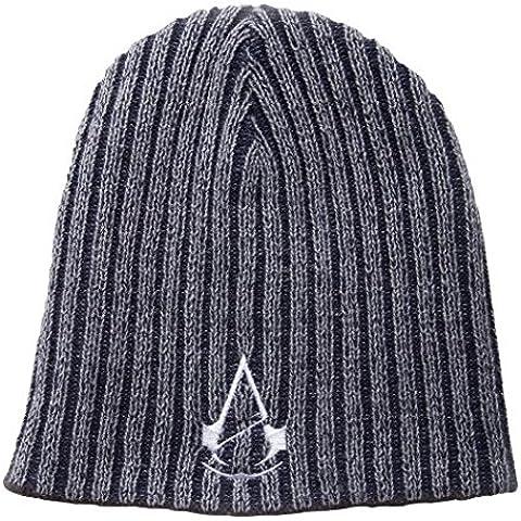 Unidad Creed Sombrero reversible blanco del logotipo Bioworld Assassin - Gorro reversible Assassin's Creed