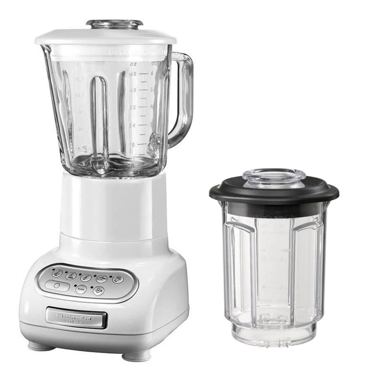 Amazon.de: Kitchenaid 5KSB5553EWH Standmixer Serie CLASSIC