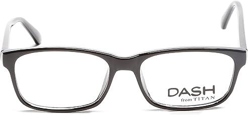 Dash Full Rim Rectangular Unisex Spectacle Frame - (D1135D1A1|46)
