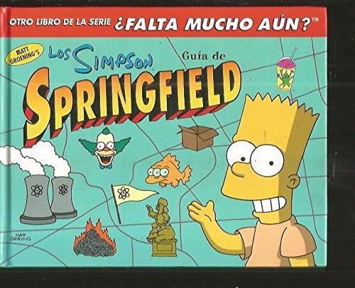 Los Simpson Guia De Springfield par MATT GROENINGS