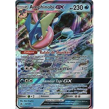 Pokemon Sl6 Carte Amphinobi Gx 230 Pv 24 131 Ultra Rare Amazon