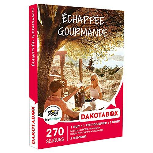 DAKOTABOX - Coffret Cadeau - ÉCHAPPÉE GOURMANDE - maisons d'hôtes, demeures,...