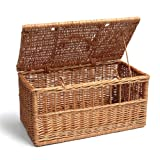 Prestige Wicker Pet Carrier Basket, Large, 50 cm