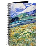 CafePress – Van Gogh Saint-remy – spirales Journal ordinateur portable, journal intime, blanches