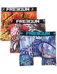 Freegun Justice Leagueboxer Packx3, Boxer Homme