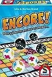 SCHMIDT AND SPIELE Jeu de société - Encore! - De 1 a 6 joueurs - Durée environ 20 min - Mixte - A partir de 8 ans - Livré a l'unité