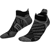 Toes&Feet Men's and Women's Anti Odor Quick Dry Compression Ankle Running Socks