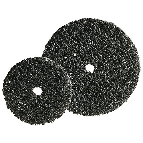 Forum 4317784923064 Disque de nettoyage grossier 150 x 13 mm Noir
