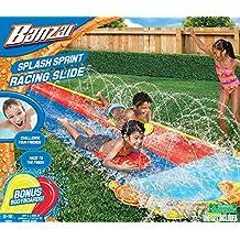 Banzai Splash Sprint - Pista deslizante para dos niños
