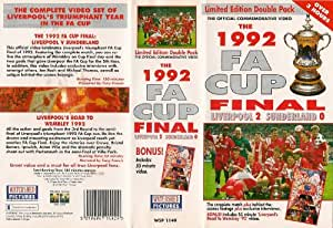 The 1992 F.A. Cup Final [VHS]