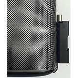Alphason Ultra Slim Wall Mount Bracket for Sonos PLAY:1 - Black