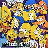 Simpsons Wandkalender 2019: Der Simpsons Spa�kalender 2019 Bild