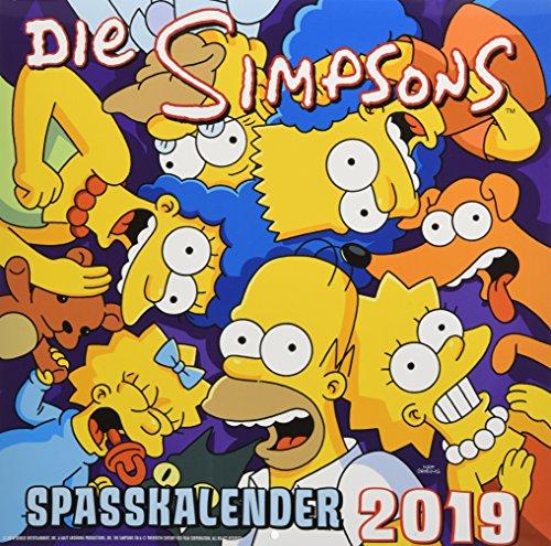 Simpsons Wandkalender 2019: Der Simpsons Spaßkalender 2019