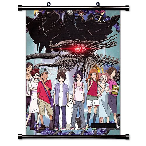 Noein To Your Other Self Anime Fabric Wall Scroll Poster (16 x 22) Inches