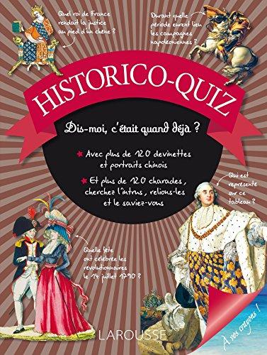 Historico-quiz por Carine Girac-Marinier